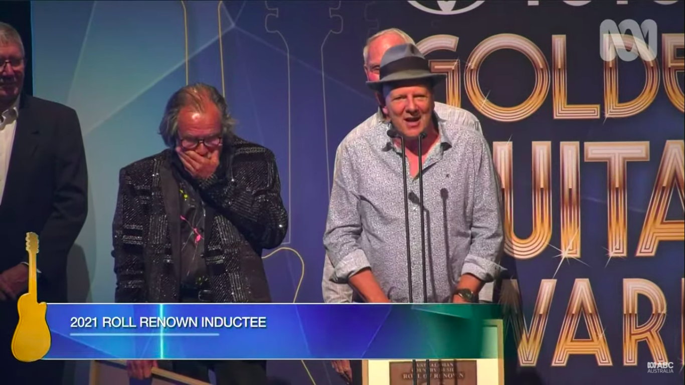 The Bushwackers Band Wins Roll of Renown 2021